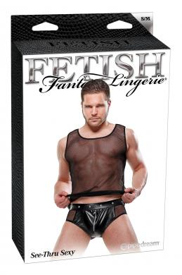 Fetish Fantasy Male See Thru Sexy S/M