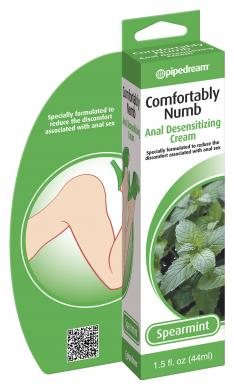 Comfortably Numb Anal Desensitizing Cream Spearmint 1.5oz