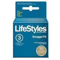 Lifestyles Snugger Fit Condoms 3 Pack