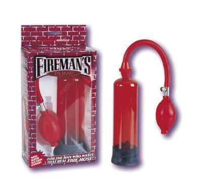 Fireman's Pump Red