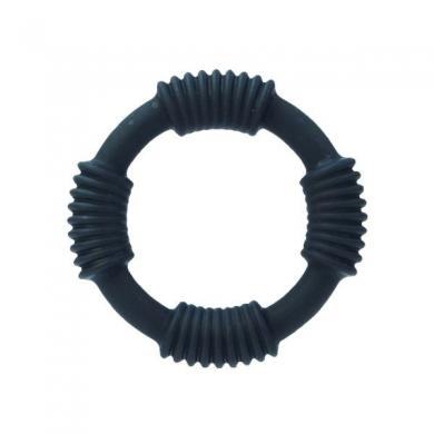 Silicone Ring Hercules- Black
