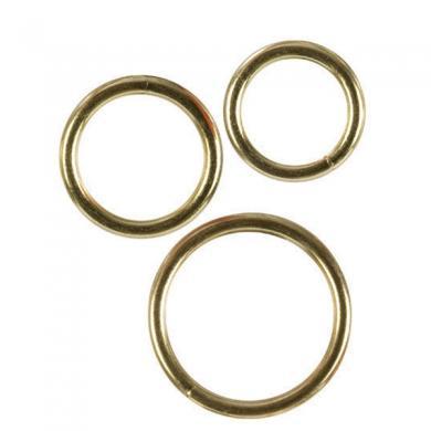 cock ring set - gold
