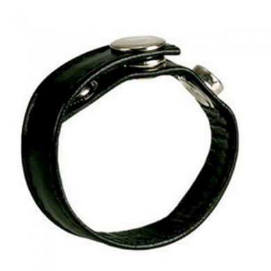 Black Leather Ring