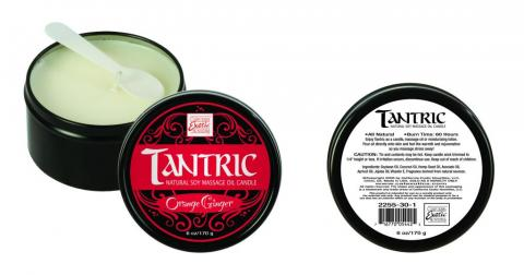 Tantric Soy Candle Orange Ginger