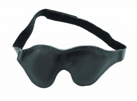 Classic Cut Blindfold With Fabric Lining Black