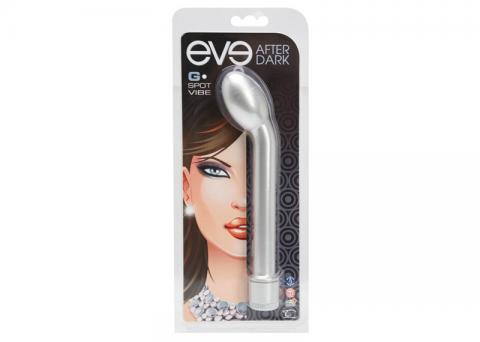 Eve After Dark G-Spot Vibe Shimmer Silver