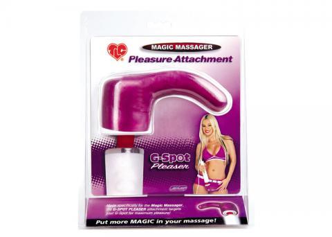 TLC Magic Massager Pleasure Attachment, G-Spot Pleaser
