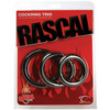 Rascal Cock Ring Trio, Black 9048-6thmb