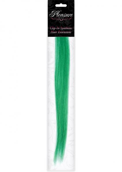 Hair Clip In Extension Emerald Green