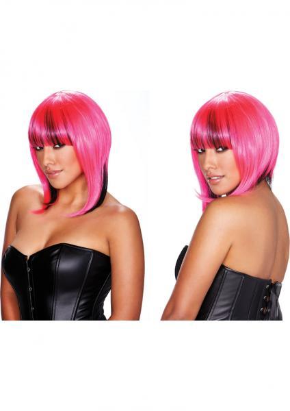 Belladonna Wig Pink Black